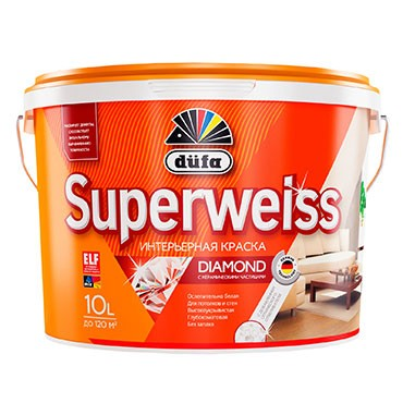 """""""Dufa"""" ВД краска SUPERWEISS RD4 10л"""